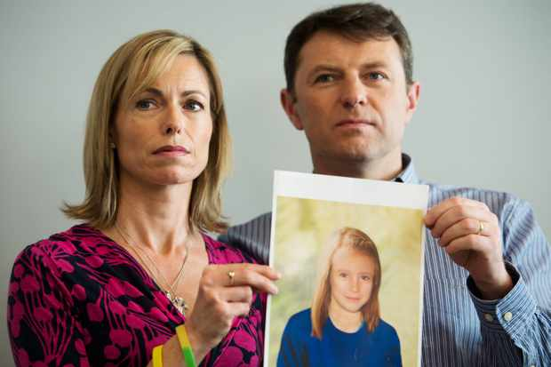 Parents of missing girl Madeleine McCann